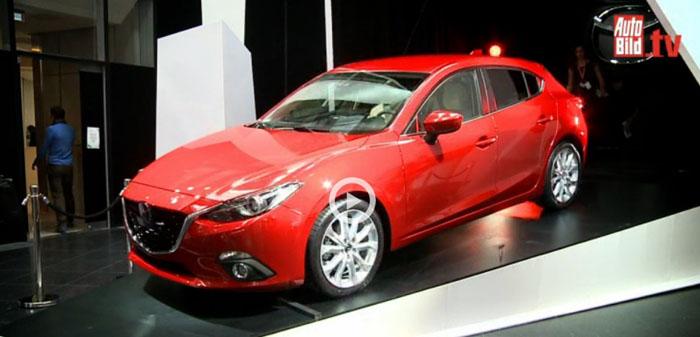 Mazda feiert den neuen Dreier