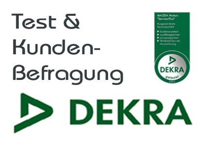 DEKRA Teste und Zertifikate